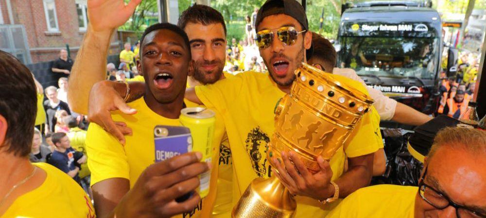 Decizie radicala a Borussiei Dortmund: Dembele, suspendat pe o perioada nedeterminata, dupa ce si-a fortat plecarea la Barca