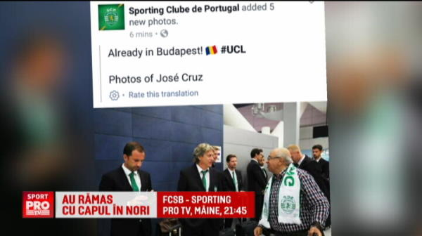 """Hello Budapest!"" Gafa uriasa a portughezilor la sosirea in Romania"