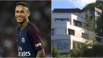 Neymar si-a gasit casa noua in Franta: 5 etaje, piscina interioara si tehnologie de ultima generatie. FOTO
