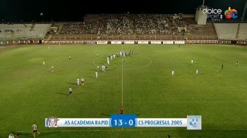 MACEL! Noul Rapid a facut scorul etapei in Liga 4: 13-0, cu 6800 de suporteri in Giulesti!