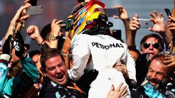 """""""Dubla"""" Mercedes la Monza, cu Hamilton pe locul I. Vettel, pe locul al treilea. Britanicul, noul lider al clasamentului pilotilor"""