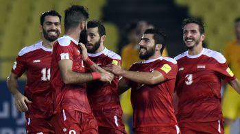"""POVESTE INCREDIBILA! Siria, """"tara fara tara"""", aproape de primul Mondial! Meciurile de """"acasa"""", in Malaezia, jucatorii au renuntat la numele lor pentru numele tarii pe tricouri"""