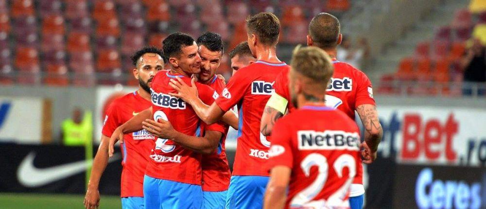Antrenament cu 1200 de spectatori! Steaua face show cu Clinceni: 4-0! Ce jucator nou a impresionat