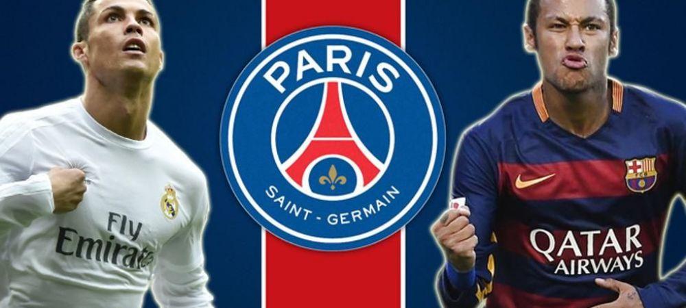 Cristiano Ronaldo putea fi in locul lui Neymar! PSG l-a ofertat inaintea brazilianului, insa a refuzat