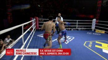 Romanii bat la poarta Marelui ring chinezesc. Se bat in gala care va fi la PRO X, sambata la 23:00