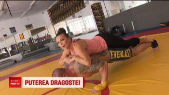 Kim Kardashian de Romania o provoaca pe diva Americii! Cea mai sexy romanca din ring se antreneaza cu iubitul sau