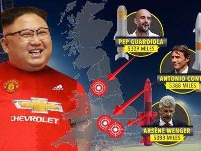 Kim Jong-un ataca fotbalul! E mare fan Manchester United si propune jucatori coreeni in Europa