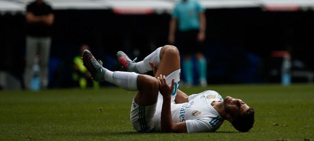 Noul pusti MINUNE al Realului rateaza debutul in grupele Ligii dupa o accidentare stupida! Ce a patit Asensio in timp ce se afla la baie
