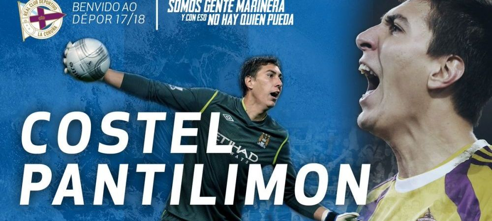 Pantilimon, anuntat TITULAR la Deportivo! Portarul roman, asteptat ca un salvator dupa debutul catastrofal de sezon