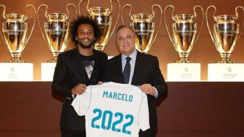 """Marcelo, """"pe viata"""" la Real Madrid! Brazilianul si-a prelungit contractul pana in 2022"""