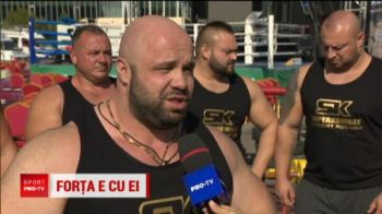 Ei sunt cei mai PUTERNICI din Romania! Au tras o camioneta de 2 tone pe care se afla Valahu. VIDEO