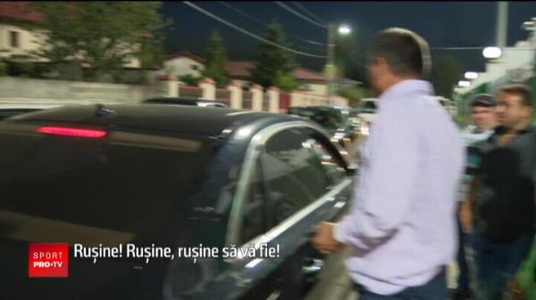 """Dan Petrescu, scos cu BODYGUARZII de la Chiajna: """"Rusine, hotilor, ne-ati furat!"""""""