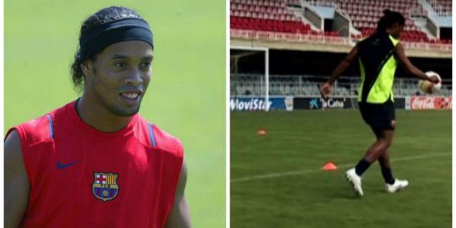 Ronaldinho, despre clipul in care a lovit bara de 4 ori si care e marea sa dragoste:  Ele mi-au dat totul