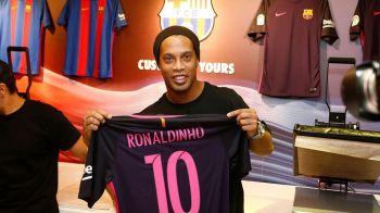 Ar fi revenirea mileniului in fotbal: Ronaldinho, propus la Barcelona pe perioada accidentarii lui Dembele. Ce alte nume sunt pe lista