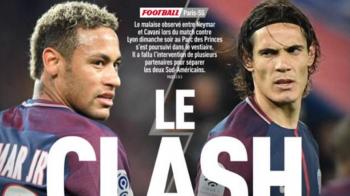 Banii, samanta scandalului! Francezii au aflat adevaratul motiv pentru care Cavani si Neymar s-au certat pe teren
