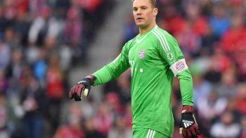 Cea mai proasta veste pentru Bayern: Neuer s-a accidentat la antrenament si nu mai joaca deloc in 2017!