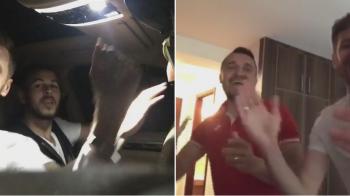 "VIDEO SENZATIONAL! Lovin ii pregateste pe Alibec si Budescu pentru ""Dansez pentru tine""! Imagini in premiera"