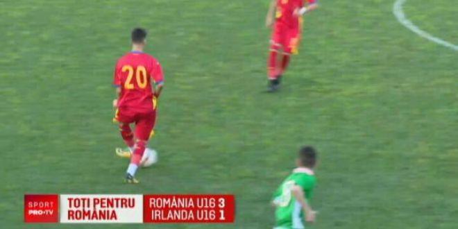 A facut 14 ore pe drum ca sa joace pentru Romania U16! Cine l-a mai impresionat azi pe Contra