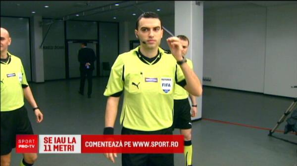 Hategan arbitreaza CFR - Steaua!