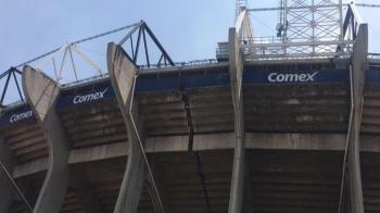 Cutremurul devastator din Mexic a CRAPAT legendarul stadion Azteca, pe care s-au jucat doua finale Mondiale: VIDEO