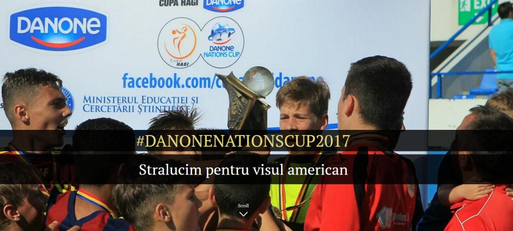 """Prezentare multimedia   """"Stralucim pentru visul american"""". Pustii Romaniei merg la New York pentru marele trofeu Danone"""