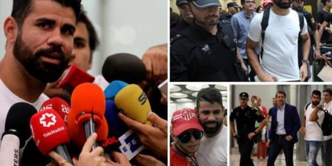 Diego Costa s-a intors la Madrid:  Am revenit acasa . Primele declaratii dupa transferul de 60 milioane euro