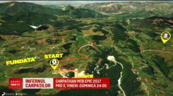 Infernul Carpatilor! O suta de ciclisti s-au luptat in cea mai spectaculoasa cursa din Romania | Carpathian MTB EPIC 2017 e la ProX, vineri - duminica, 00:00