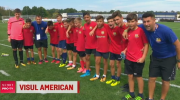 """""""Hai, Romania"""" a rasunat la New York! Micii fotbalisti au ajuns in SUA, pentru cel mai tare turneu din lume dedicat copiilor"""