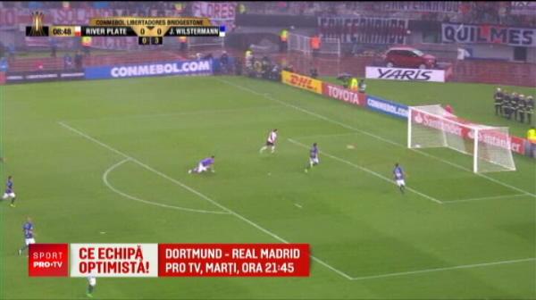 River Plate a pierdut cu 0-3 turul sferturilor Copei Libertadores, insa ce s-a intamplat la retur e de povestit nepotilor: VIDEO