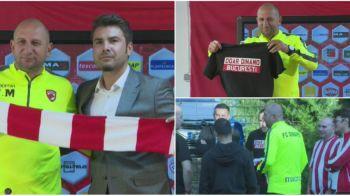 """Fanii lui Dinamo au venit la prezentarea lui Miriuta si i-au facut un cadou inaintea derby-ului! Miriuta: """"E cea mai mare bucurie de cand mi s-au nascut copiii incoace"""""""