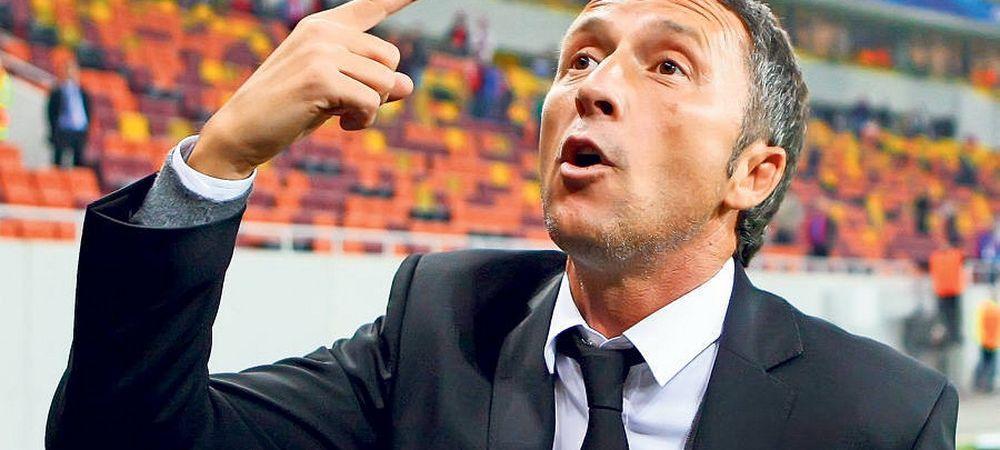 Reactia de bucurie nebuna a lui Mihai Stoica la finalul meciului! Ce a facut in secundele de dupa terminarea partidei