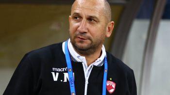 """""""N-am fost cu nimic mai prejos! Suporterii, minunati!"""" Reactia lui Miriuta dupa debutul pe banca lui Dinamo"""