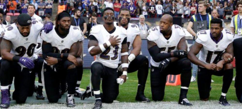 Proteste fara precedent in SUA, la adresa lui Donald Trump! Cum l-au sfidat jucatorii din NFL