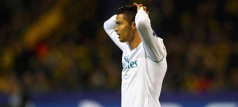 "Saracul om bogat :) Cristiano Ronaldo este exasperat de ce i se intampla la Real: ""Asa e cand esti MARE!"""