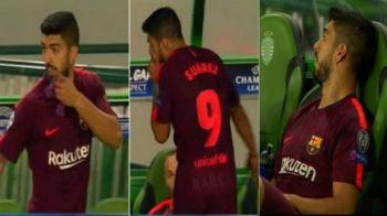 "Suarez a facut scandal dupa schimbare: ""Por que?"" Ce i-a spus antrenorul. VIDEO"