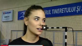 "WOW! Cea mai frumoasa handbalista joaca la Cluj: ""Lumea imi spune ca seman cu Antonia!"" VIDEO"