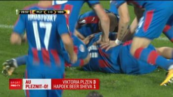 Un jucator crescut in Romania a marcat pentru Beer Sheva, in infrangerea cu Plzen din grupa Stelei. VIDEO