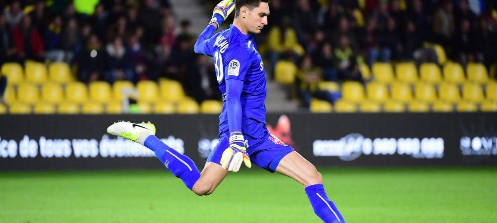 FAZA ETAPEI in Franta: cum a scapat Tatarusanu fara gol la penalty! Nantes e pe 3 in Franta! VIDEO