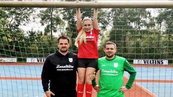 """""""Copii, nu cumparati tricoul acestei echipe!"""" :)) Un club din Germania a ales sponsor pe tricou un site pentru adulti"""