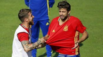 Pique a facut anuntul cel mare! Ce spune despre RETRAGEREA de la nationala Spaniei si relatia cu Ramos