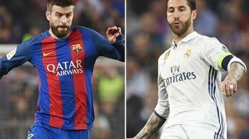 Discutia avuta de Pique si Ramos in cantonamentul Spaniei, dupa scandalul catalan! Ce au decis cei doi jucatori emblematici ai Barcei si Realului