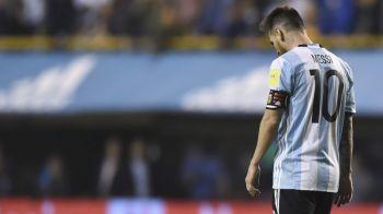 """""""Se joaca cu focul!"""" Argentina, aproape de eliminarea de la Cupa Mondiala! Ratare URIASA a lui Messi! VIDEO"""