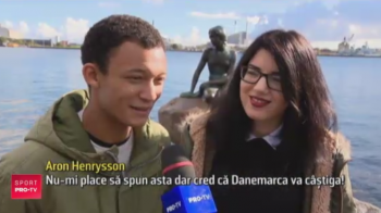 """Duelul romano-danez nu se da doar pe terenul de fotbal! Un cuplu stabilit la Copenhaga are """"meciul sau"""" duminica: VIDEO"""