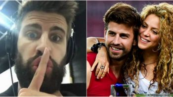 Pique nu mai lasa loc de interpretari! Reactia fundasului dupa ce spaniolii au anuntat ca e pe cale sa se desparta de Shakira