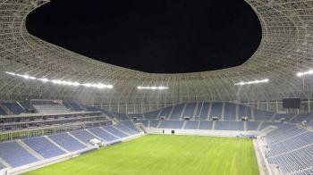 """VIDEO   Primul antrenament al oltenilor pe noul stadion! Cand poate debuta Craiova pe """"bijuteria"""" din Banie"""