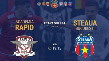 Derby EPIC asteptat in Liga a 4-a la Rapid - Steaua! S-au dat TOATE biletele. Ce scria la case :))