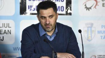 """Claudiu Niculescu: """"Rezultatul e echitabil! Am jucat foarte bine cu o echipa de multe milioane!"""" A anuntat ca il vrea pe Sanmartean"""