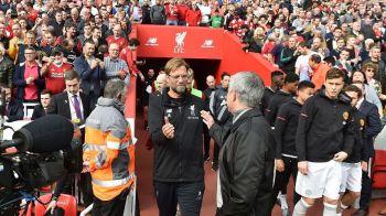 """""""Inamicul fotbalului s-a intors!"""" Mourinho, criticat dupa ce United """"a parcat autobuzul"""" pe Anfield! Ce au spus Klopp si Mourinho dupa meci"""