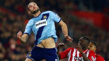 Cat costa doua 'galbene' in Premier League? Amenda URIASA primita de Andy Carroll dupa ce a fost eliminat