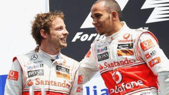 """Declaratia surprinzatoare a lui Hamilton, despre relatia cu Button: """"Niciodata nu am fost prieteni!"""""""